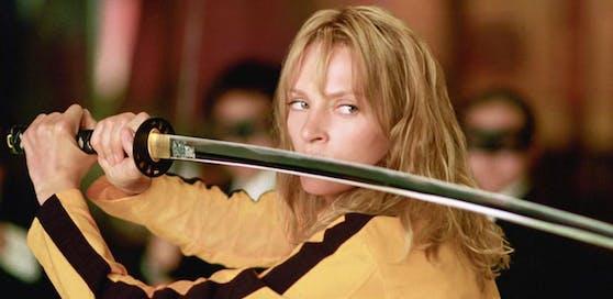 """Uma Thurman in """"Kill Bill"""" - am Set kam es nach der Belästigung durch Weinstein zu einem folgenschweren Vorfall."""