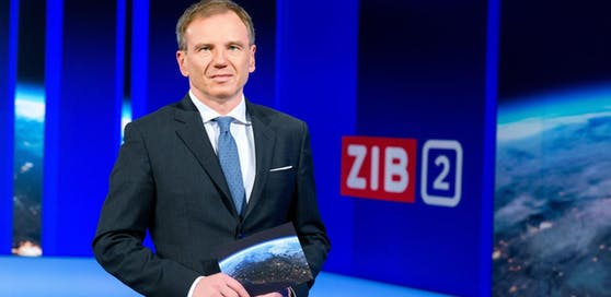 """""""ZIB 2"""" mit Armin Wolf."""