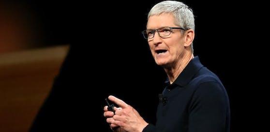 Apple-Boss Tim Cook soll am Montag die Neuheiten des Unternehmens präsentieren.