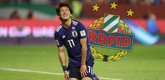 """Koya Kitagawa soll vor der Unterschrift bei Rapid stehen. """"Heute"""" stellt ihn vor."""