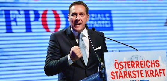 FPÖ-Chef H. C. Strache