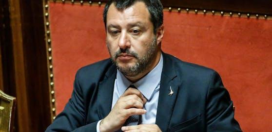 Italiens Innenminister Matteo Salvini (Lega) ist nicht besonders gut auf Bundeskanzler Kurz zu sprechen.