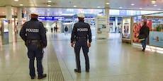 Eskalation im Hauptbahnhof: Polizisten ziehen Waffen