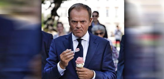 Schmeckt's, Herr Tusk?