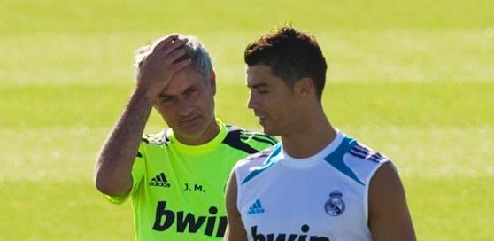 Die Wiedervereinigung von Jose Mourinho und Cristiano Ronaldo wird ausbleiben.