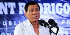 Präsident Duterte kündigt überraschend Rückzug an
