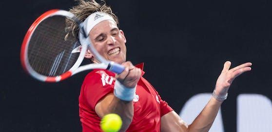 Dominic Thiem beim ATP-Cup in Australien.