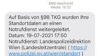 Nicht wundern, wenn dir die Polizei diese SMS schickt