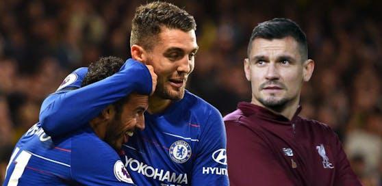 Mateo Kovacic blüht bei Chelsea auf und hat gut lachen. Er erlaubte sich einen Scherz auf Kosten von Kroatien-Kollegen Dejan Lovren (Liverpool).
