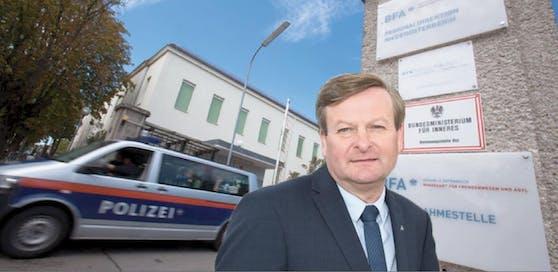 Asyllandes Gottfried Waldhäusl reagierte auf Vorfälle in Traiskirchen.