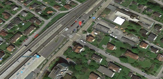 Der Verkehrsunfall passierte in Hohenems