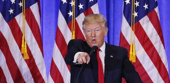 Verbal ist der US-Präsident angriffig, aber nicht komplex.