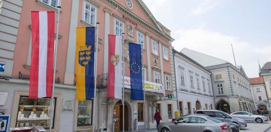 Das Rathaus in Wr. Neustadt: