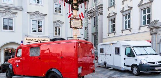 Das traditionelle Maibaum-Aufstellen findet heuer in Linz nicht statt.