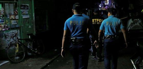 Polizeistreife auf den Philippinen (Symbolbild)