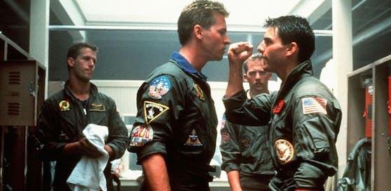 """Val Kilmer (l.) und Tom Cruise in """"Top Gun"""""""