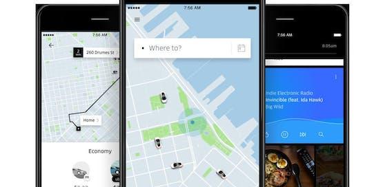 Uber wurde Opfer eines Hackangriffs.