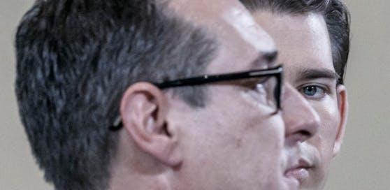 Kurz und Strache: Zwei Männer, ein Programm.
