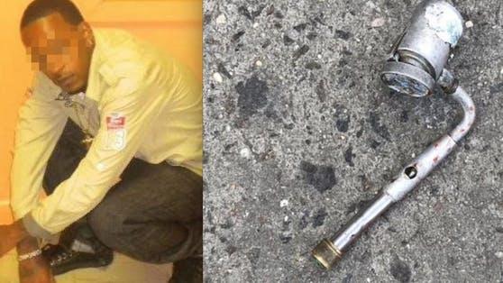 """Tragisch: Saheed V. (34) """"bedrohte"""" Fußgeher in Brooklyn mit einer Pfeife. Und wurde erschossen."""