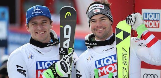 Matthias Mayer und Vincent Kriechmayr