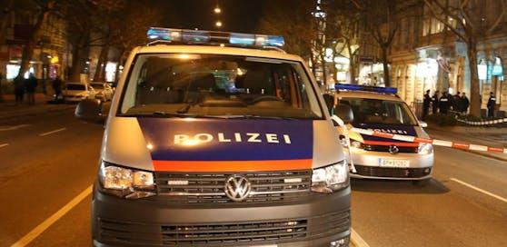 Polizeieinsatz in Wien. Symbolfoto