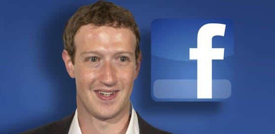 Facebook-Gründer Mark Zuckerberg lacht wieder.