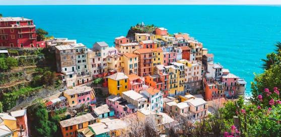 Cinque terre in Italien  ein Lieblingsziel der österreichischen Urlauber.
