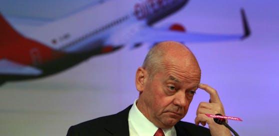 Joachim Hunold steht im Verdacht, Geschäftsreiseflugzeuge für private Flüge genutzt zu haben.
