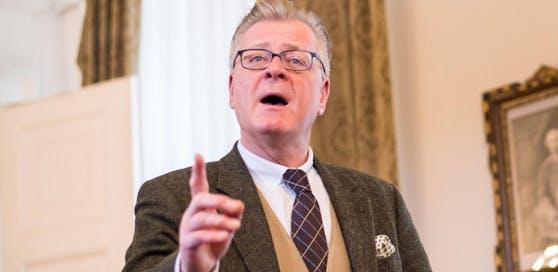 Der Pressesprecher des Vizekanzlers, Martin Glier.