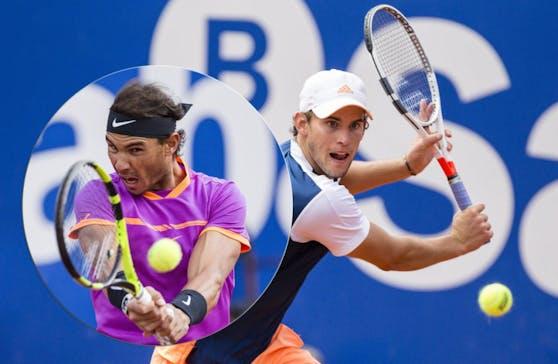 Thiem unterlag im Barcelona-Endspiel Nadal.