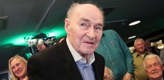 Die verstorbene Rapid-Legende Alfred Körner wird am Donnerstag beerdigt.