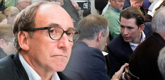 Johannes Rauch (Grüne, r.) übt scharfe Kritik an den Aussagen des Bundeskanzlers.