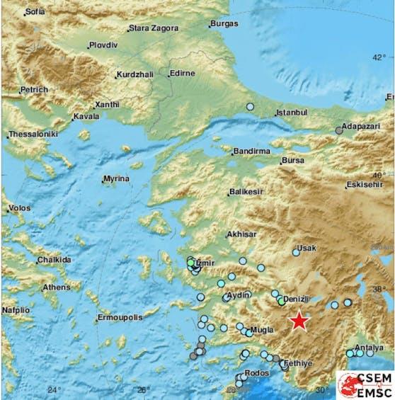 Erdbeben erschüttern die Türkei