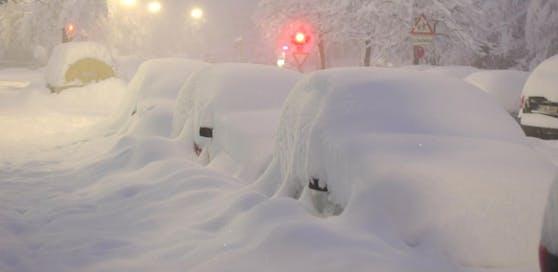 Bis zu 20 cm Neuschnee sollen es werden.
