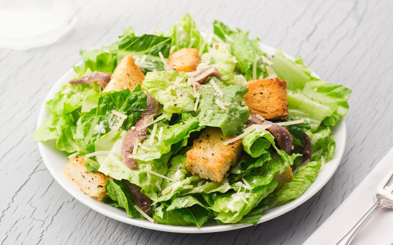 Caesar's Salad mit Sardellen