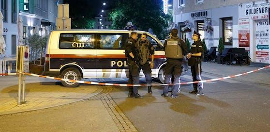 Nächtlicher Polizeieinsatz in der Steiermark.