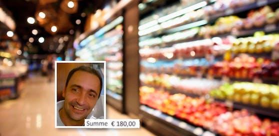 Nach einem Einkauf im Supermarkt soll Andreas S. (45) 180 Euro Strafe zahlen, weil er sein Auto am Kundenparkplatz rechtswidrig abgestellt hat.
