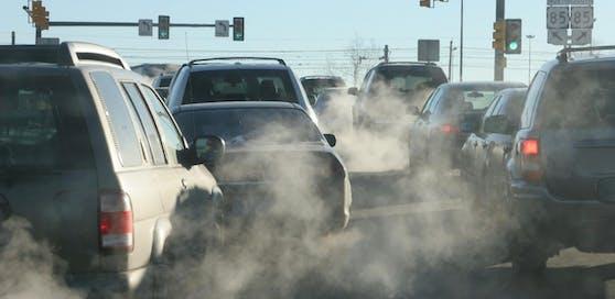 Abgase tragen einen großen Teil zur Umweltverschmutzung bei. (Symbolbild)