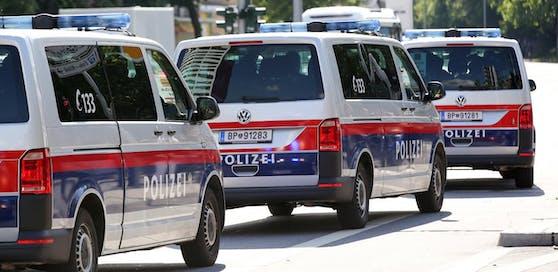 Riesiger Polizeieinsatz am Donnerstag in Wien-Favoriten.