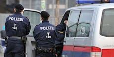 Mann zieht vor Polizisten weißes Pulver durch Nasenloch