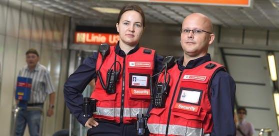 Schon jetzt sind 40 Securitys des neuen Wiener-Linien-Sicherheitsteams unterwegs. Bis Ende des Jahres werden es 50 Sicherheitsmitarbeiter sein.