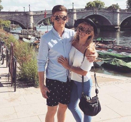 Ähnlichkeit? Manager Michael R. (23) flog mit dem Pass seiner Freundin Charlotte (34) erfolgreich nach Berlin.