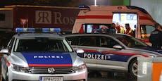 Mann attackiert 2 Menschen mit Messer in Wien