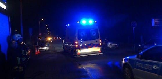 Die verletzten Personen wurden in das Klinikum Klagenfurt gebracht