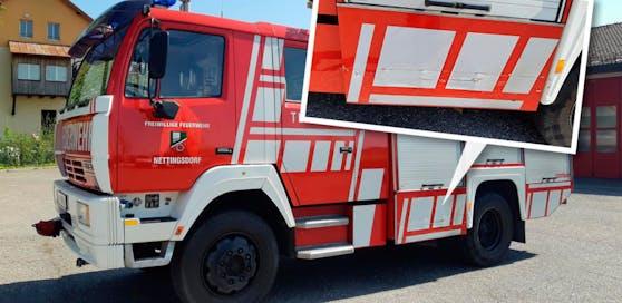 In Nettingsdorf krachte ein Alkolenker gegen ein Feuerwehrauto, richtete rund 10.000 Euro Schaden an.