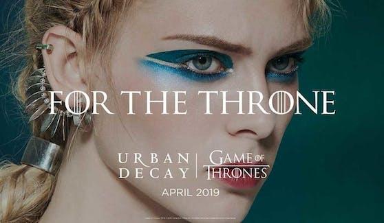 """Das erste Plakat für die Kollaboration zwischen """"Game of Thrones"""" und Urban Decay ist jetzt heraussen."""