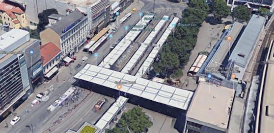 Einer der Tatorte: der Franz-Jonas-Platz.
