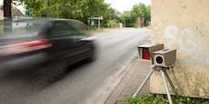 Raser donnerte 101 km/h zu schnell über Bundesstraße