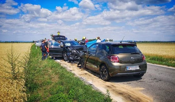 Tödlicher Unfall: Die Einsatzkräfte vor Ort