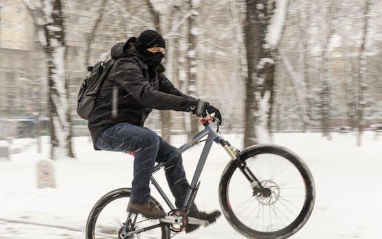 Immer mehr Wiener fahren auch im Winter mit dem Fahrrad.